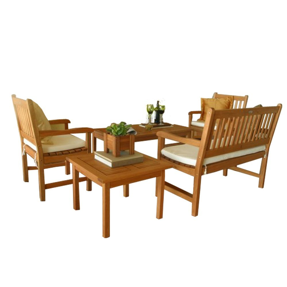 Amazonia Milano 5 Piece Seating Set Best Patio Furniture Sets line