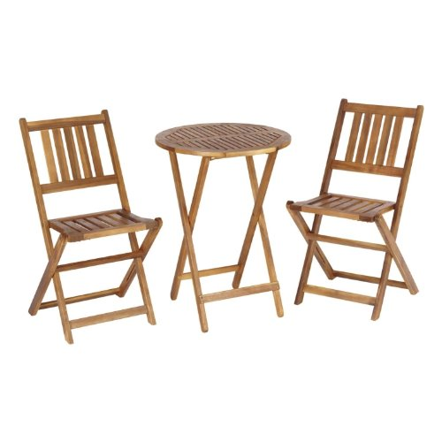 Living Accents Wooden Bistro Set Best Patio Furniture Sets Online