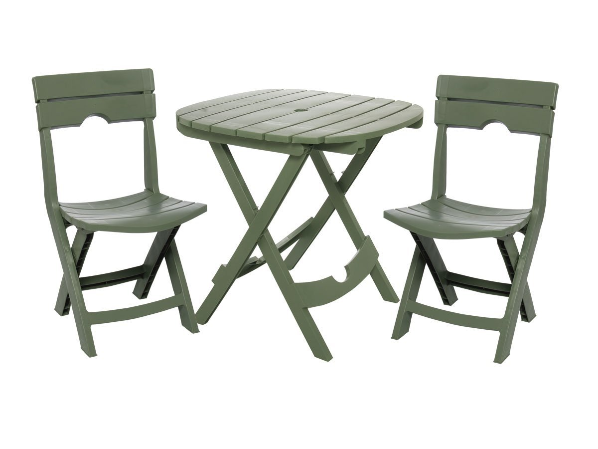 Adams Quik Fold Caf 233 Bistro Set Best Patio Furniture