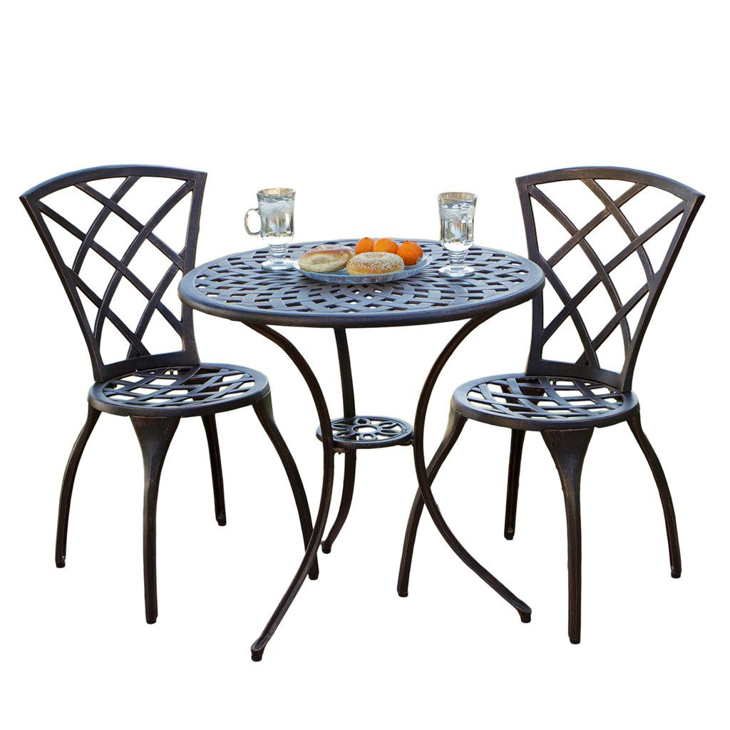 Glenbrook bistro set best patio furniture sets online for Patio furniture table set