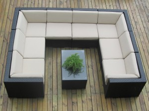 Genuine Ohana Patio Wicker Furniture 9pc All Weather Couch Set Review