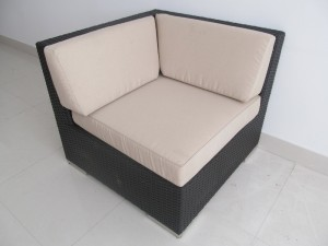 Genuine Ohana Outdoor Sectional Sofa and Chaise Lounge 9Pc Patio Furniture Set