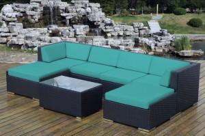 Ohana Outdoor Wicker Furniture Sunbrella Aruba